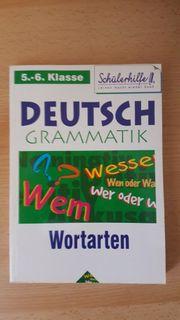 Lehrbuch DEUTSCH GRAMMATIK WORTARTEN 5 -