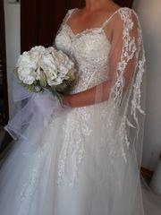 Hochzeitskleid Neu mit Schleier