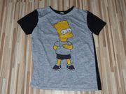 Bart Simpson T-Shirt Größe 158