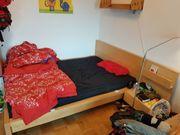 Ikea Malm Birke Bett 140