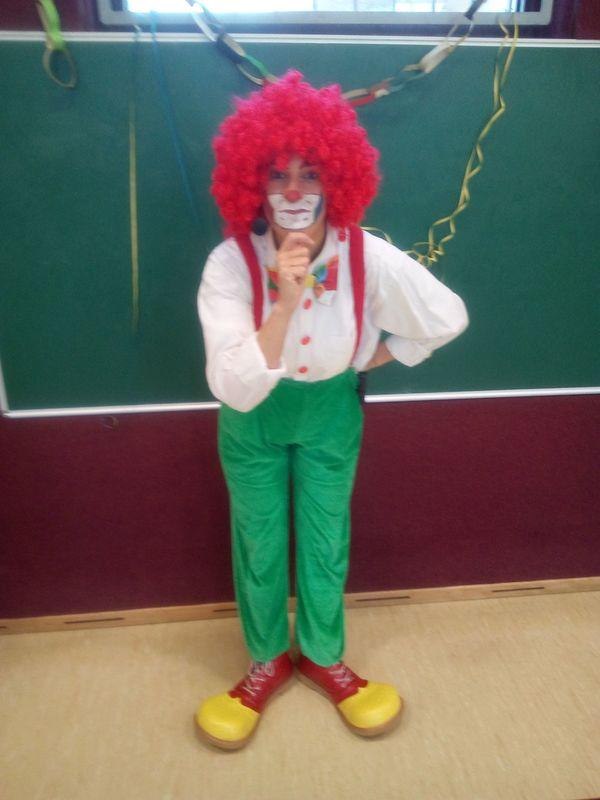 Show Clown Kinderunterhaltung zum Fasching