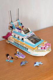 neuwertige Lego Friends Yacht 41015