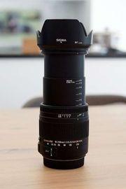 Tele Objektiv Sigma 18-250mm 3 5