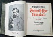 Wilhelm Busch Humoristischer Hausschatz 1905