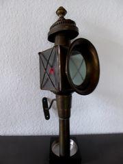 Antike Wagenlampe Messing Wiener Fiaker