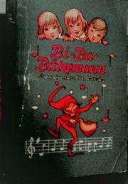 BI-Ba-Butzemann Liederbuch Klebebilderalbum vollständig 1954