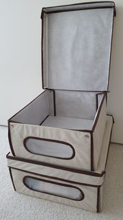 Aufbewahrungsboxen - Home Deco - 2-Stück