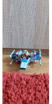 Lego Star Wars Raumschiff grau-blau