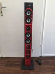 Musik Tower mit Docking-station