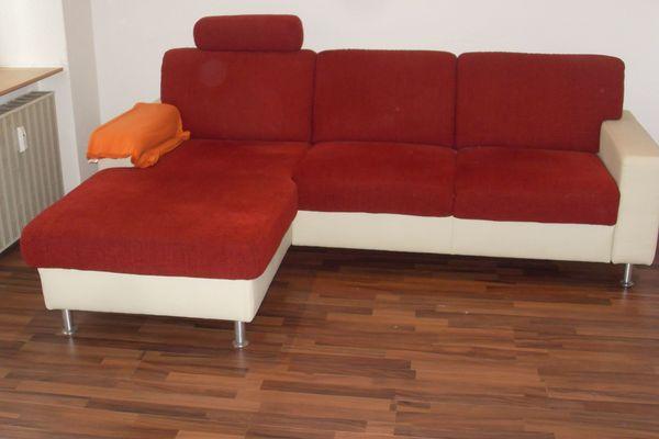 Sofa mit Ottomäne