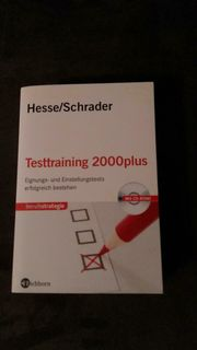 Verschenke Buch Testtraining 2000plus Eignungs-