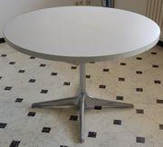 Esstisch weiß rund und ausziehbar