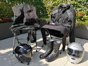 Motorradbekleidung Gr XL XXL komplett