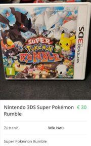 Nintendo 3DS Super Pokemon Rumble