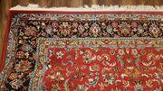 Perserteppich Perser Blumen Paradies Teppich