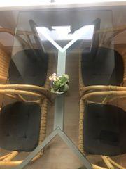 4 Korbsessel Korbstühle Stühle Stuhl