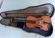 Alte Geige Violine des Geigenbauers