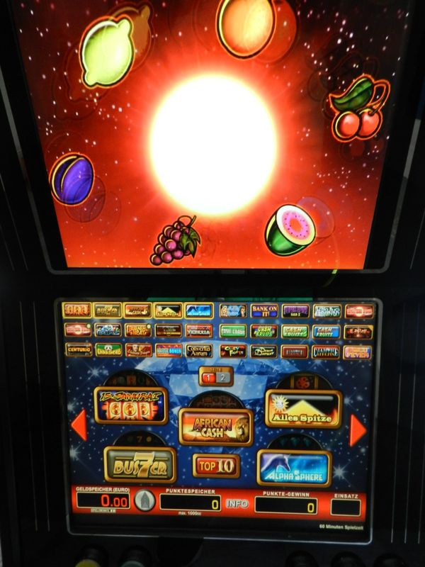 Merkur Juwel 162 Spiele mit