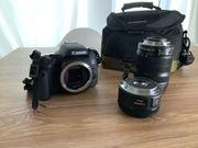 Canon EOS 760d Spiegelreflexkamera mit