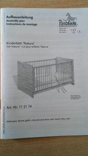 Kinderbett Natura von Pinolino