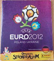 Stickeralbum Panini EM Euro 2012