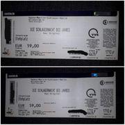 2 Eintrittskarten Schlagernacht des Jahres
