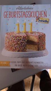 Sanella Geburtstags Backbuch