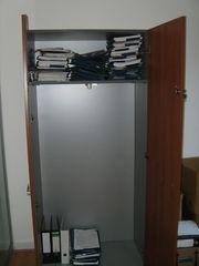 abschließbarer Garderobenschrank für s Büro