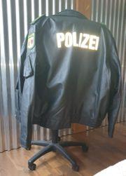 Polizei Lederjacke 56 neu ungetragen