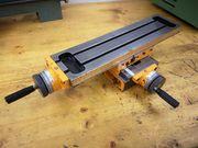 Kreuztisch für Fräsaufsatz Emco compact
