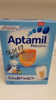 Zu verschenken Aptamil Pronatura Kindermilch
