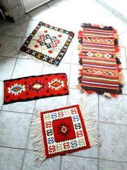 Antik Teppich Marokko Peru handgemacht