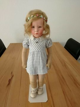 Puppen - Antike Käthe Kathe Kruse Brustblatt-Puppe
