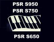 Yamaha PSR S950 PSR S750
