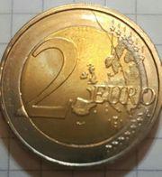 2 euro münze fehlprägung Einzelstück