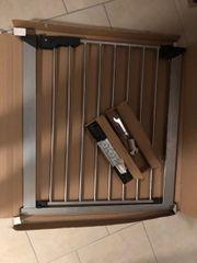 Türschutzgitter chrom grau Geuther 73-80