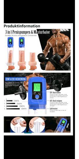 Sexspielzeug - Automatische penispumpe Penis Pumpe Sexspielzeug