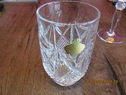 6 Echt Bleikristall Gläser