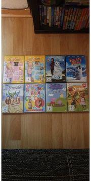verschiedene Kinder DVDs