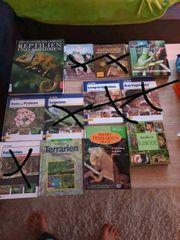 Reptilien Bücher Terrarium Paket