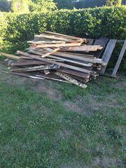Brennholz zum verschenken