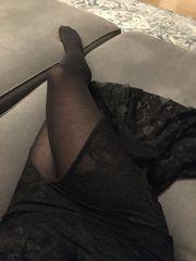 getragene Strumpfhose 60den für Liebhaber