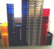 50 Schreibablagen Briefablage versch Farben