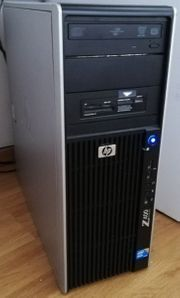 HP Z400 Workstation mit LCD