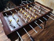 Kickerkasten Tischfußballtisch Massivholz