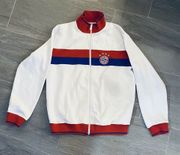 Trainingsjacke Fussball Adidas Bayern München