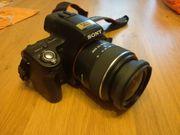 Digitalkamera - Sony SLT-A33L inkl Tasche
