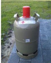 11 kg Propangasflasche grau leer