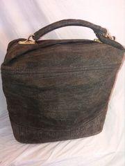 Schicke Reisetasche Olivegrün Vintage