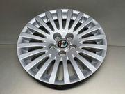 4x Original Alfa Romeo Radkappe